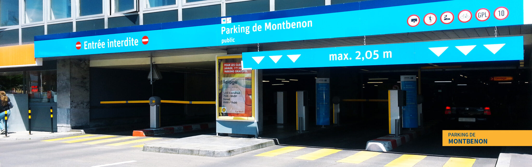 Parking Montbenon